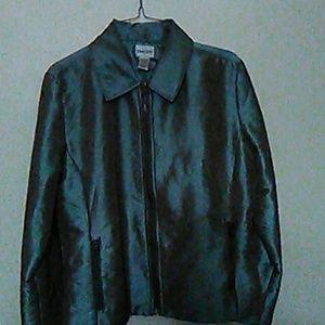 Jacket metallis greengold